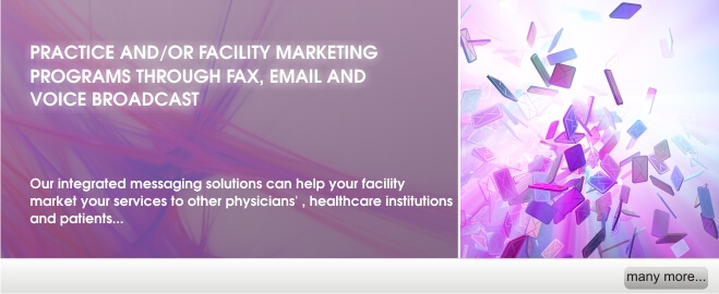 Practice and/ or Facility Marketing Programs
